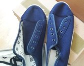 Mėlyni laisvalaikio batai