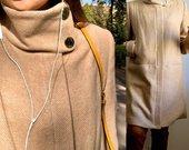 Smėlio spalvos Mango paltas