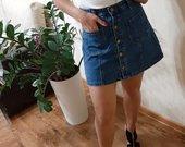 Dzinsinis sijonas tiek rudieniui tiek vasarai