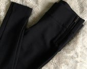 Zara juodos aptemptos kelnės / tamprės / leggings