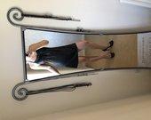juoda maza suknele