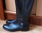 Natūralios odos rudeniniai batai