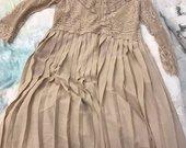 Zara nėrinių suknelė