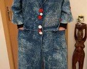 Džinsinis paltas