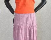 XXL/XXXL Stilingas vasarinis sijonas