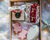 Kūno priežiūros rinkinys, kalėdinės kojinės