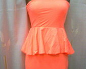 ZARA trikotažinė trumpa suknelė 2928-20