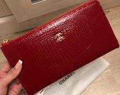 Didžioji odinė Chanel piniginė