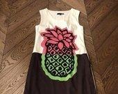 Love Moschino silkinė suknelė