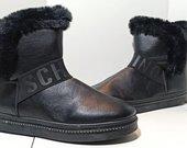 Šilti moteriški batai su kailiuku