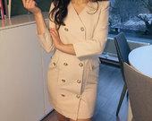 Naujas Madingas švarkas-suknelė