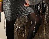 Blizgantis sijonas