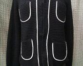 Rick Cardona megztinis su 4 kišenėm 4105-1