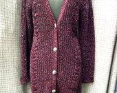 ZE-ZE blizgantis megztinis su vilna 3925-2