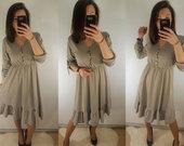 Pilka suknele