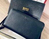 Hugo Boss natūralios odos pinigine