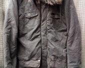 TARA vyriška džinsinė striukė su kapišonu 3600-3