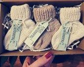 Alpakos vilnos naujagimio kojinytės