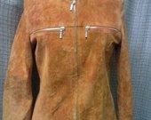 Trendy Look plytinis zomšinis švarkas 3089-6