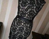 Suknelė su gipiūru