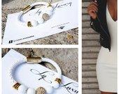 Ly Luxury balta apyrankė