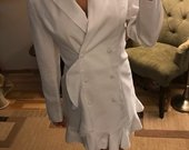 ASOS nauja balta švarko tipo suknelė