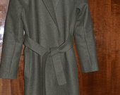 Stilingas ilgas vilnos paltas