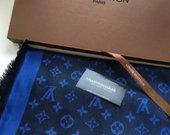Louis Vuitton melynas skara su kašmiru ir vilna