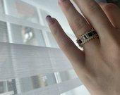 Spalvotas žiedas