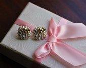 Mieli auskarai-dovanėlės
