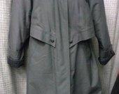 Demisezonins paltas su karakulio apykakle 3123-10