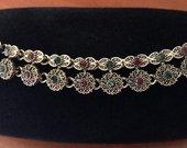 Vintage apyrankė kristalai