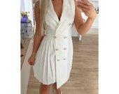 Nauja balta svarko tipo suknele