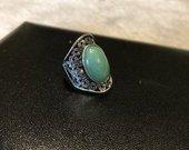 Vintage žiedas Nefritas