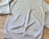 Smėlio spalvos Alcott megztinis 3/4 rankovėm