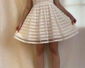 Proginė balta suknelė