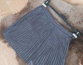 Šilkinis klostuotas sijonukas