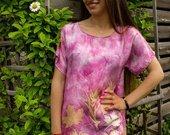 Natūralaus šilko suknelė/tunika