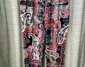Plonos kelnės ant gumos su kišenėm 4205-1