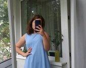 Žydra suknelė
