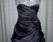 Proginė mini suknelė be petnešėlių 4014-13