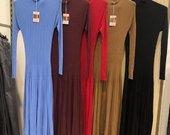 Itališka žydra suknelė
