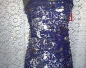 Trikotažinė mini suknelė su raukiniais 3688-1