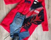 Wow raudona Gucci džemperis