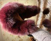Nauja lapes kailio kepure bordo spalvos