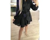 Nauja juoda susijuosianti suknele