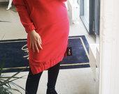 Ilgas dzemperis suknele