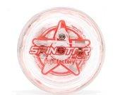 """Yo-Yo """"Spinstar"""" (šviečiantis raudonai iš 2 pusių)"""