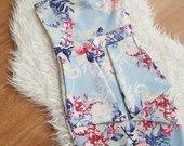 Daili gėlių rašto suknelė