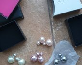 Perlų auskarai Avon